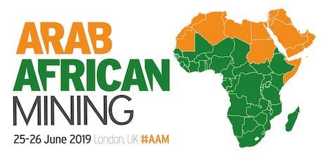 Arab & African Mining tickets