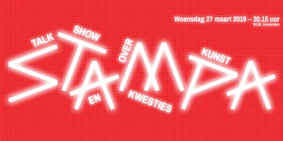 Stampa #9 - Talkshow over kunst en kwesties