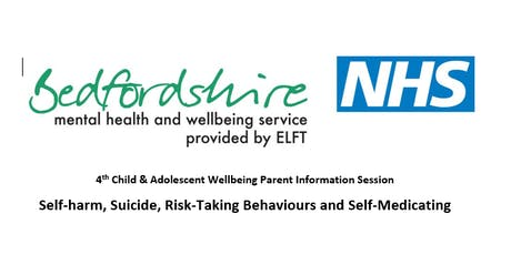 Child & Adolescent Wellbeing Parent Info Session – Self harm and suicide tickets
