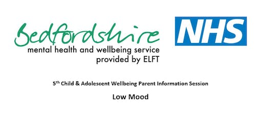 Child & Adolescent Wellbeing Parent Info Session – Low mood