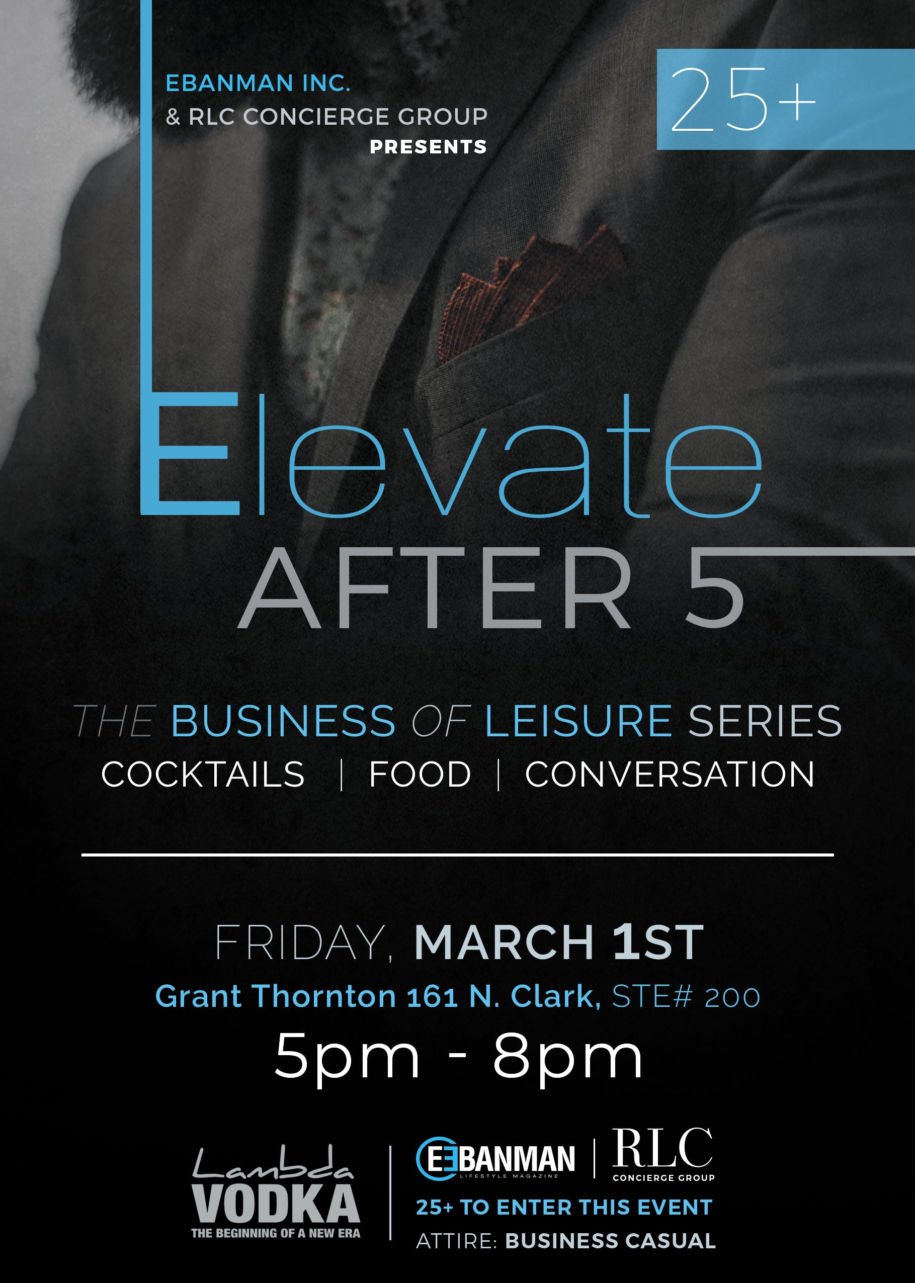 Elevate After 5 | The Business of Leisure Ser