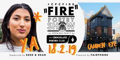#CPCFIRE CAMDEN Open Mic Party // Every 3rd Monday