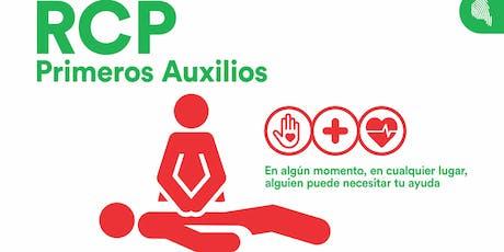 Curso de R.C.P. y Primeros Auxilios - Personal de CONICET y UNC EXCLUSIVAMENTE entradas