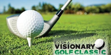 2019 Bosma Visionary Golf Classic tickets
