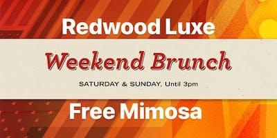 Redwood Luxe Weekend Brunch