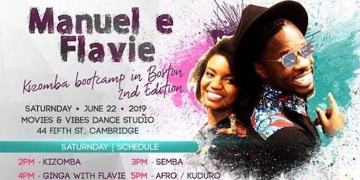 Manuel and Flavie Kizomba Bootcamp  - Summer Edition