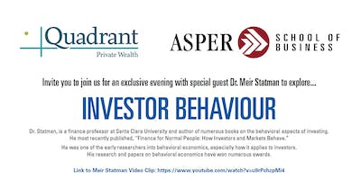 Quadrant Private Wealth Reception with Dr. Meir Statman