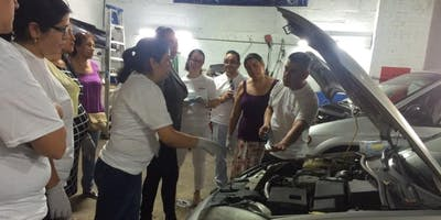 Heels On Wheels -Talleres Educativos en mantenimiento de Autos para Mujeres
