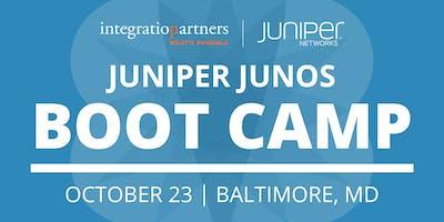 Juniper Networks JUNOS Bootcamp   Baltimore, MD
