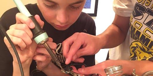 Youth Robotics & Programming Camp - Home Hacker Camp '19 (Level 1, Ses 1)