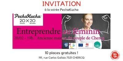 Entreprendre au féminin - Pechakucha Night