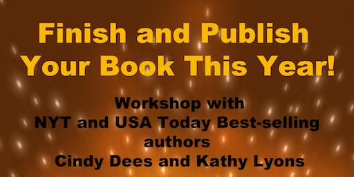 Finish and Publish Your Book This Year!