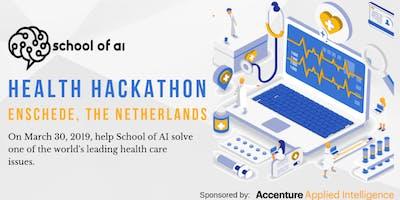 School of AI Health Hackathon 2019 - Enschede, The Netherlands