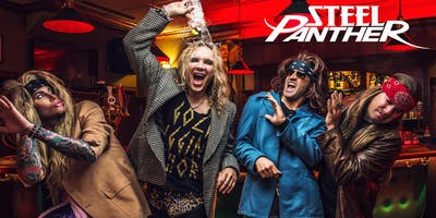 """STEEL PANTHER \""""Sunset Strip Live Canada Tour 2019\"""""""