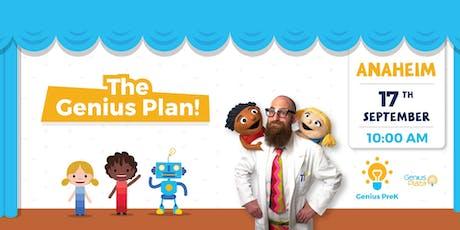 Genius Plaza presents: The Genius Plan! - Anaheim, CA tickets