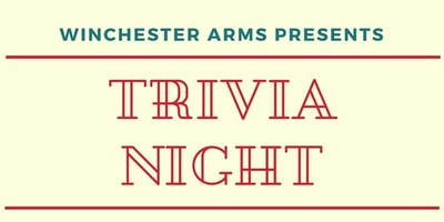 Winchester Arms Trivia Night