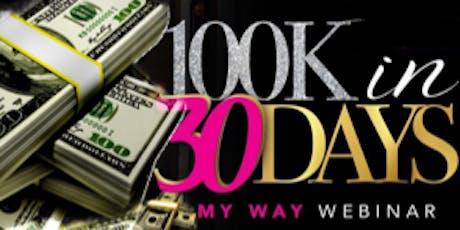 10K IN 30 DAYS WEBINAR tickets
