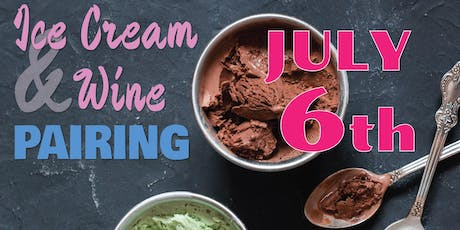 Ice Cream and Wine Pairing  tickets