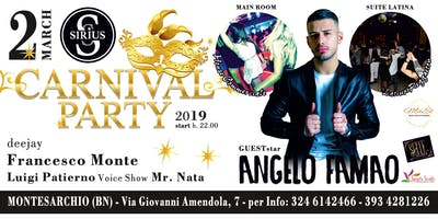 Carnival Party 2019 - 2 Marzo 2019 - Sirius Disco