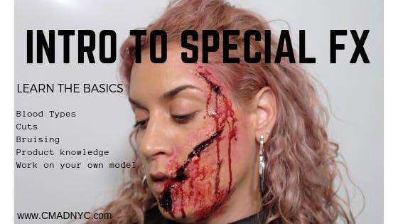 Intro To Special FX 2 Day Makeup Class