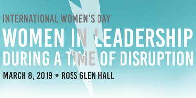 Women in Leadership During a Time of Disruption
