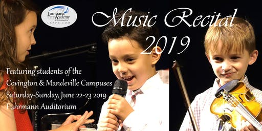 Spring Music Recital - Covington & Mandeville Campuses