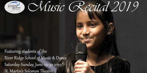 Spring Music Recital - River Ridge Campus