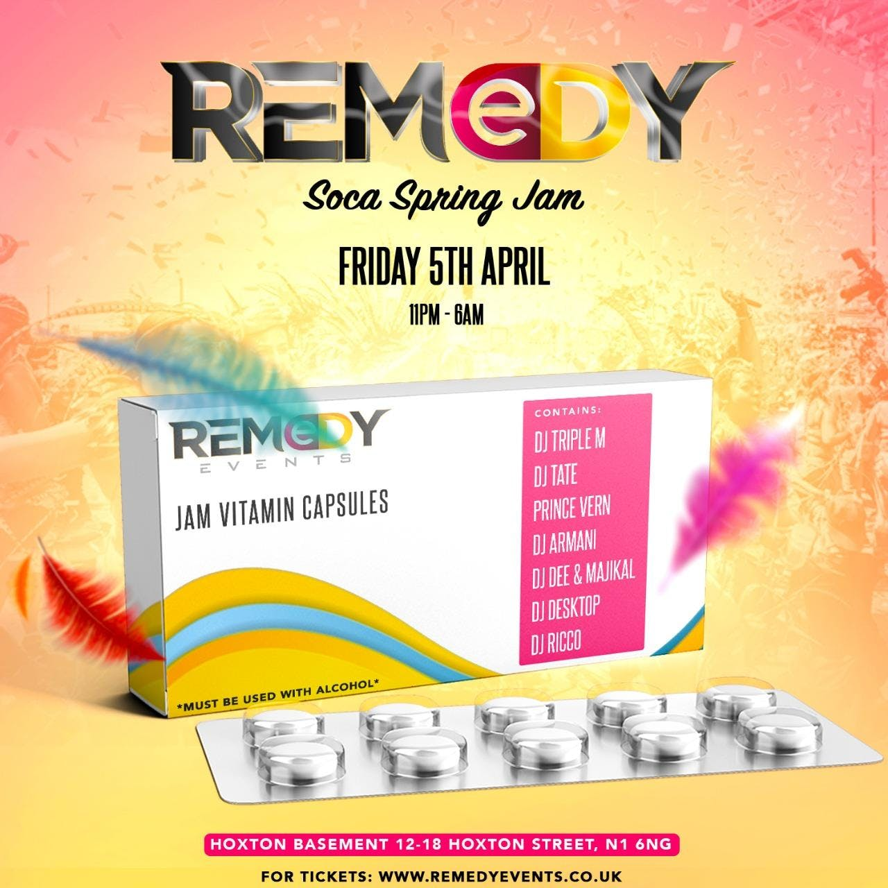 Remedy Soca Spring Jam