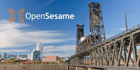2019 OpenSesame User Conference billets