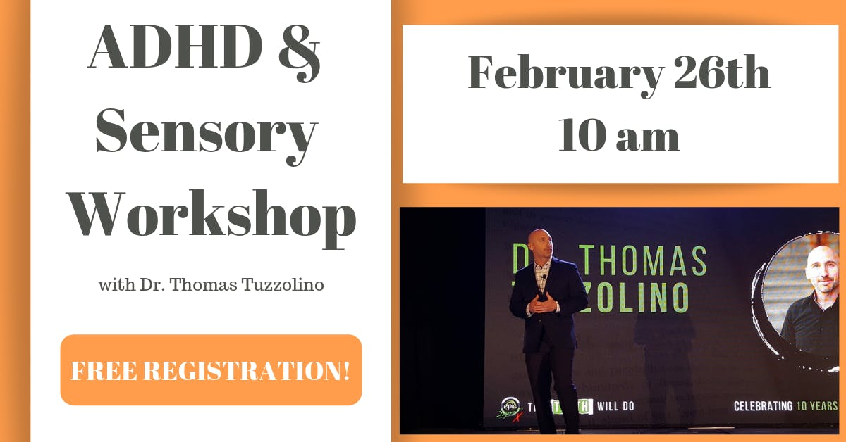The Perfect Storm: ADHD, Anxiety, & Sensory Workshop