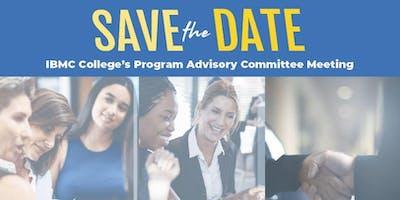 IBMC College Program Advisory Meetings — Longmont Campus