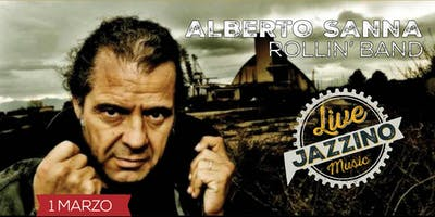 Alberto Sanna Rollin' Band - Live at Jazzino