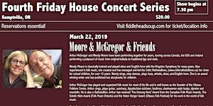 Fourth Friday House Concert - Arthur McGregor & Friends