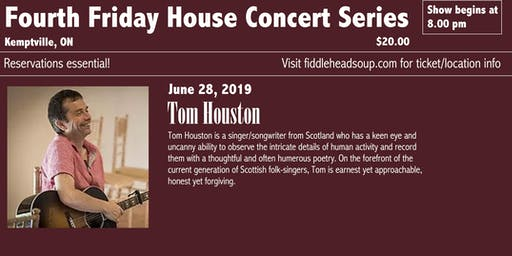 Fourth Friday Concert Series presents Tom Houston