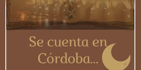 Se Cuenta en Córdoba entradas