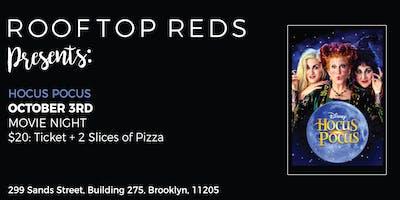 Rooftop Reds Presents: Hocus Pocus