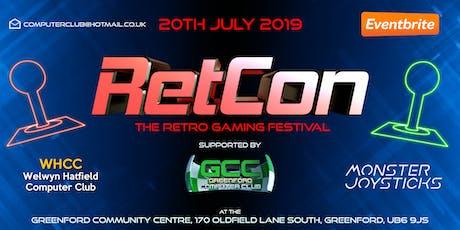 RetCon - The Retro Gaming Festival 2019 tickets