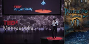 MN VR and HCI Feb 2019: VR at TEDx, Ravenclaw