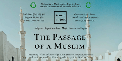 UM MSA 5th Annual Conference: The Passage of a Muslim
