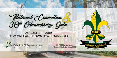OPBSI National Convention 2019 & 30th Anniversary Gala tickets