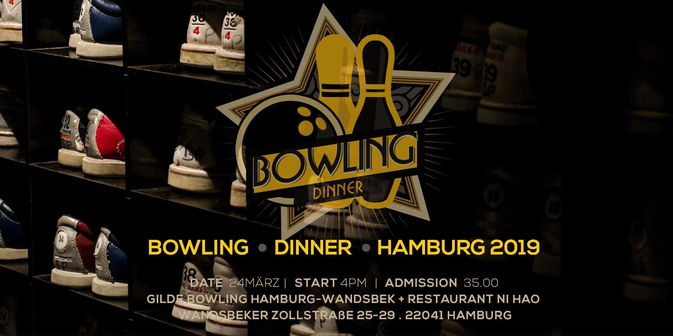 DINNER & BOWLING HAMBURG 2019