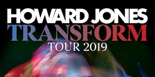 Howard Jones (Transform Tour 2019) w/ All Hail The Silence