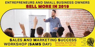 Sales And Marketing Success Workshop (SAMS Day)