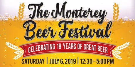 2019 The Monterey Beer Festival tickets