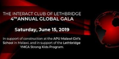 The Interact Club of Lethbridge 4th Annual Global Gala