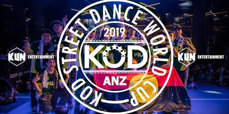 KOD ANZ Sydney Street Dance Competition tickets