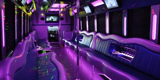 Skate N Paint Party Bus