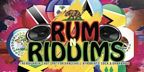 Rum N Riddim tickets
