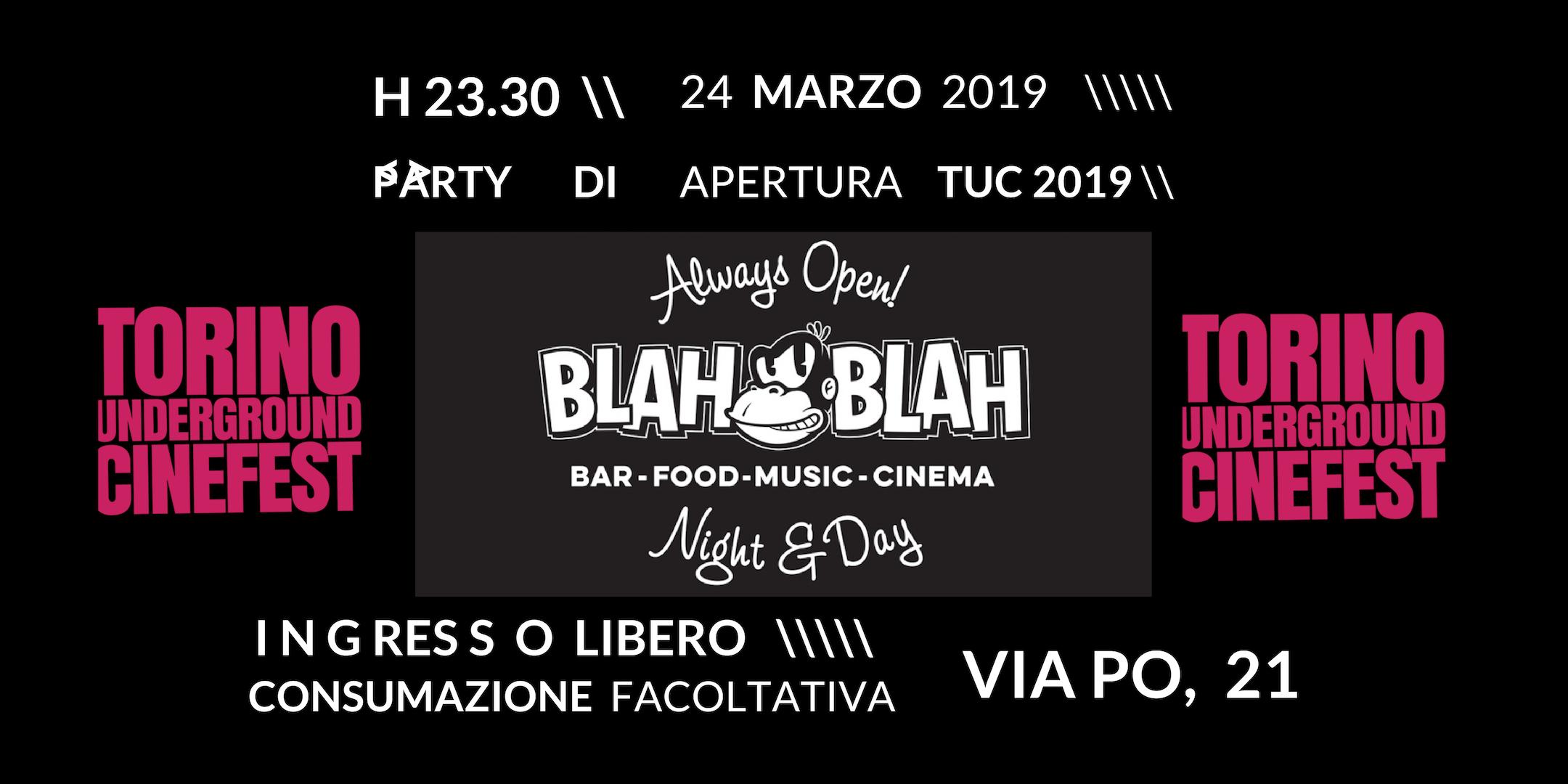 6° Torino Underground Cinefest - Party di ape