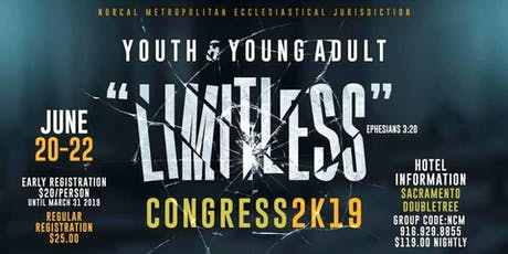 Limitless - Youth & Young Adult Congress tickets